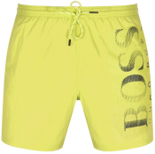 BOSS Octopus Swim Shorts Yellow