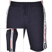 Tommy Jeans Logo Sweat Shorts Navy