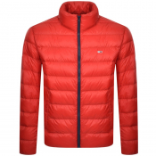 Tommy Jeans Packable Down Jacket Red