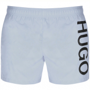 HUGO ABAS Swim Shorts Blue