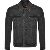 Levis Denim Trucker Jacket Black