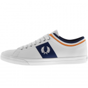 Fred Perry Underspin Tipped Cuff Trainers White