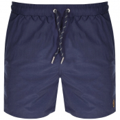 Luke 1977 Great Gold Lion Swim Shorts Navy
