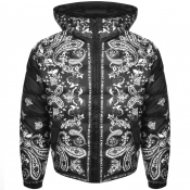 Versace Jeans Couture Quilted Down Jacket Black