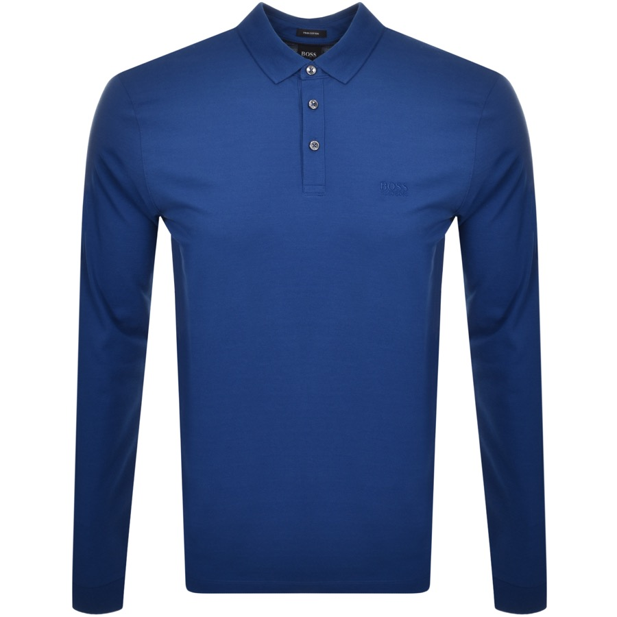 BOSS Pado 10 Polo T Shirt Blue