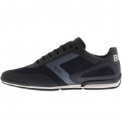 BOSS Saturn Lowp Trainers Navy