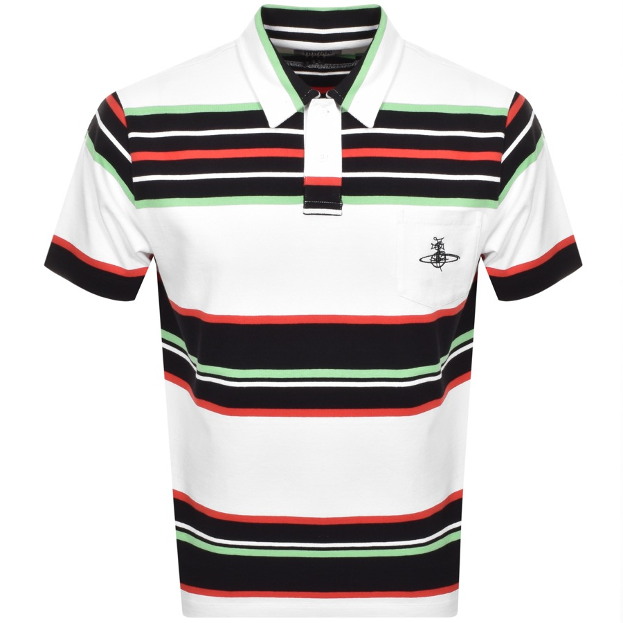 Vivienne Westwood Lobster Polo T Shirt White