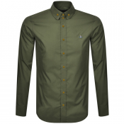 Vivienne Westwood Krall Long Sleeved Shirt Green