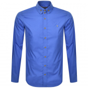 Vivienne Westwood Krall Long Sleeved Shirt Blue