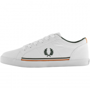 Fred Perry Baseline Twill Trainers White