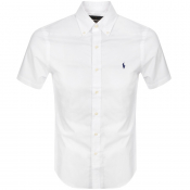 Ralph Lauren Poplin Short Sleeved Shirt White