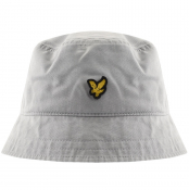 Lyle And Scott Logo Bucket Hat Grey