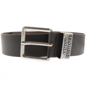 Armani Exchange Leather Belt Brown