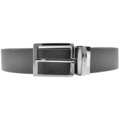 Emporio Armani Reversible Leather Belt Black