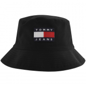 Tommy Jeans Heritage Reversible Bucket Hat Black