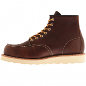 Red Wing Classic 6 Inch Moc Boots Brown
