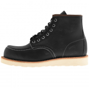 Red Wing Classic 6 Inch Moc Boots Black