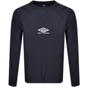 Pretty Green X Umbro Shimmer Training Top Navy