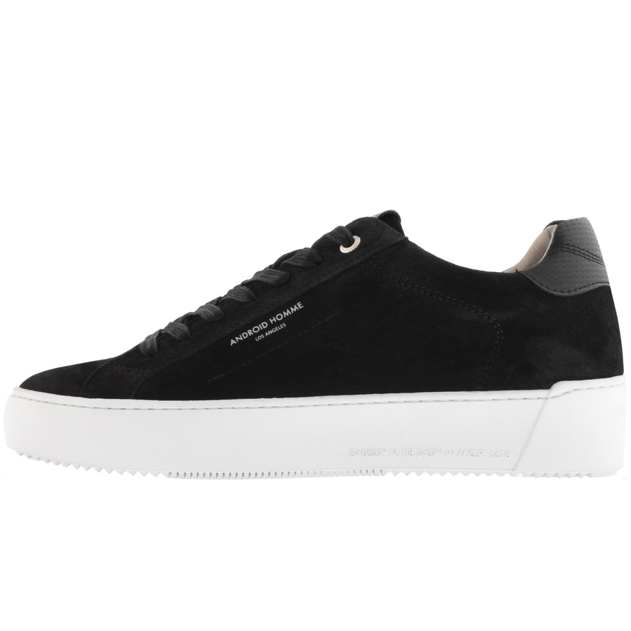 Android Homme Zuma Trainers Off Black