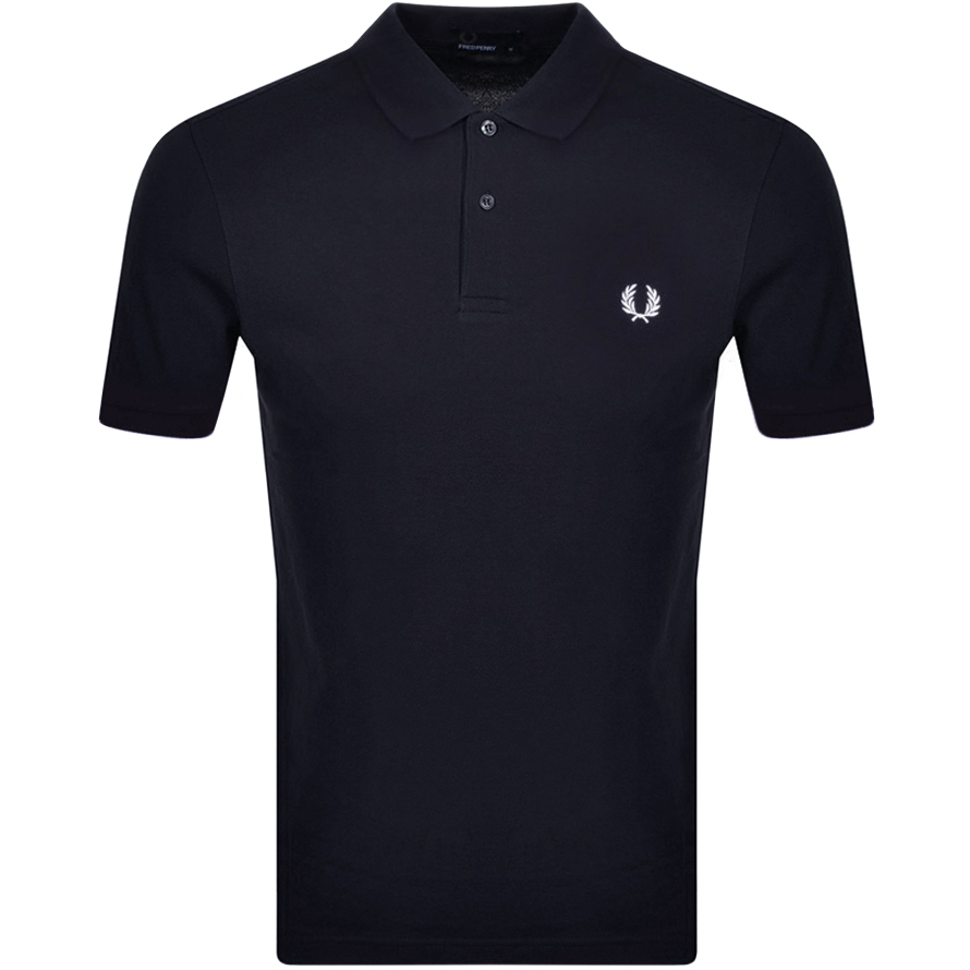Fred Perry Polo T Shirt Navy