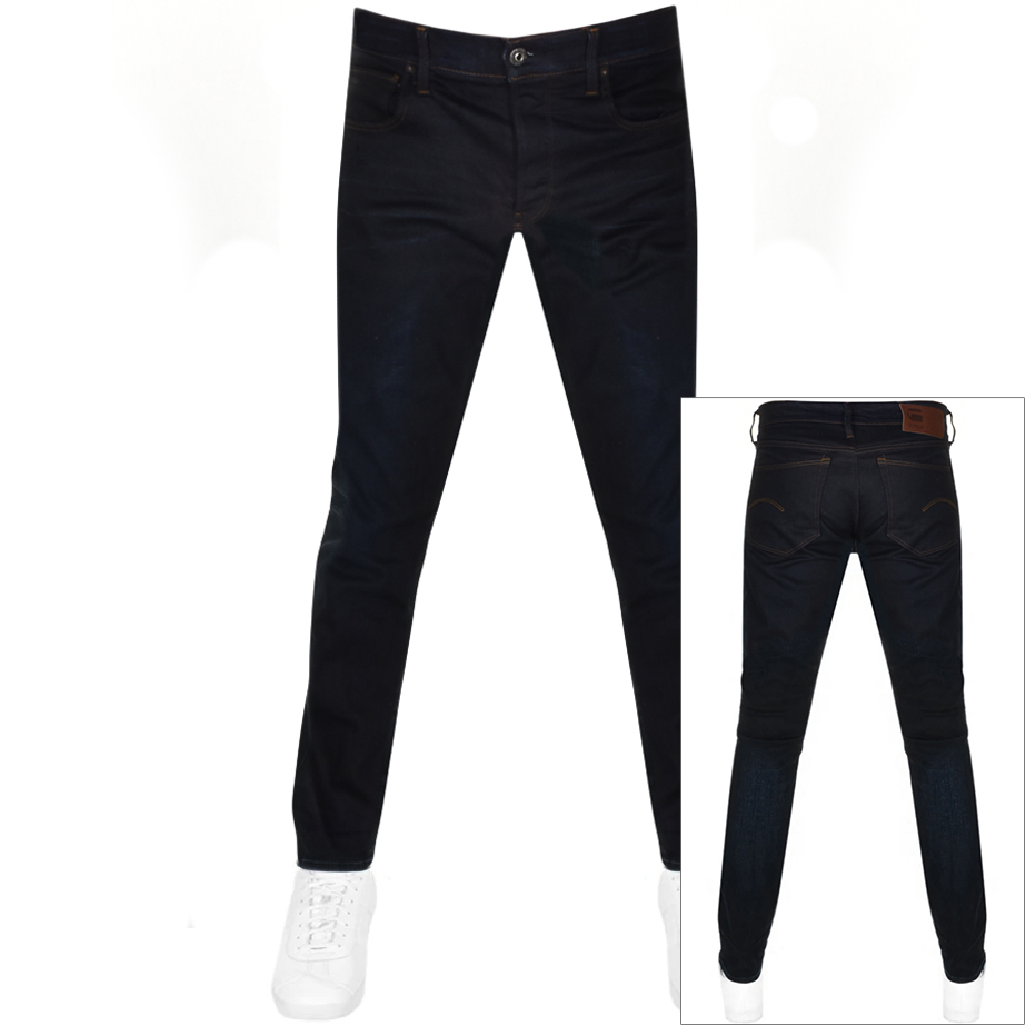 G Star Raw 3301 Tapered Jeans Blue