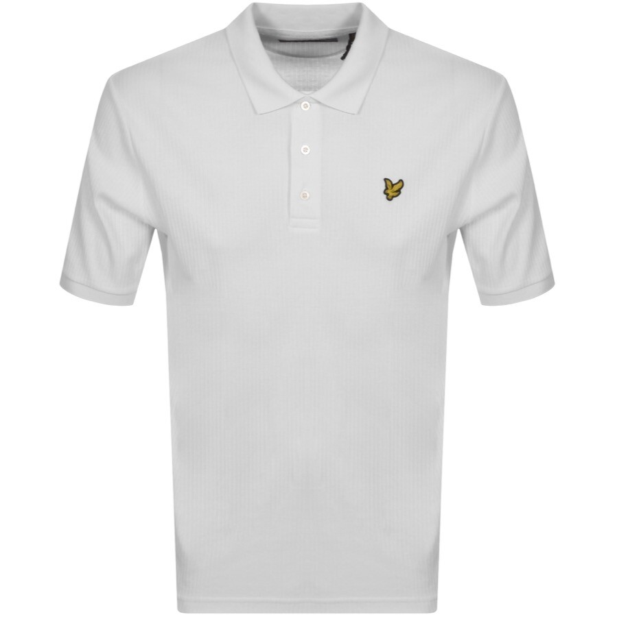 Lyle And Scott Short Sleeved Polo T Shirt White