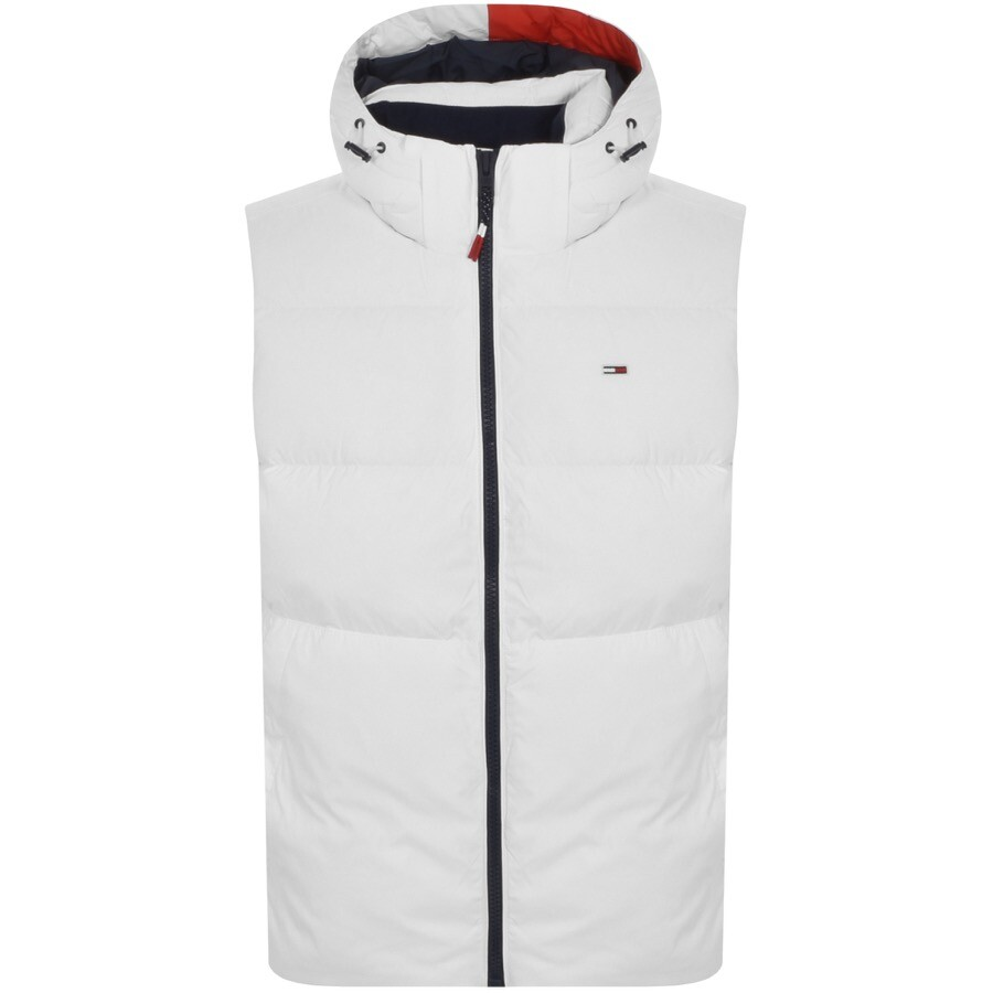 Tommy Jeans Padded Gilet White