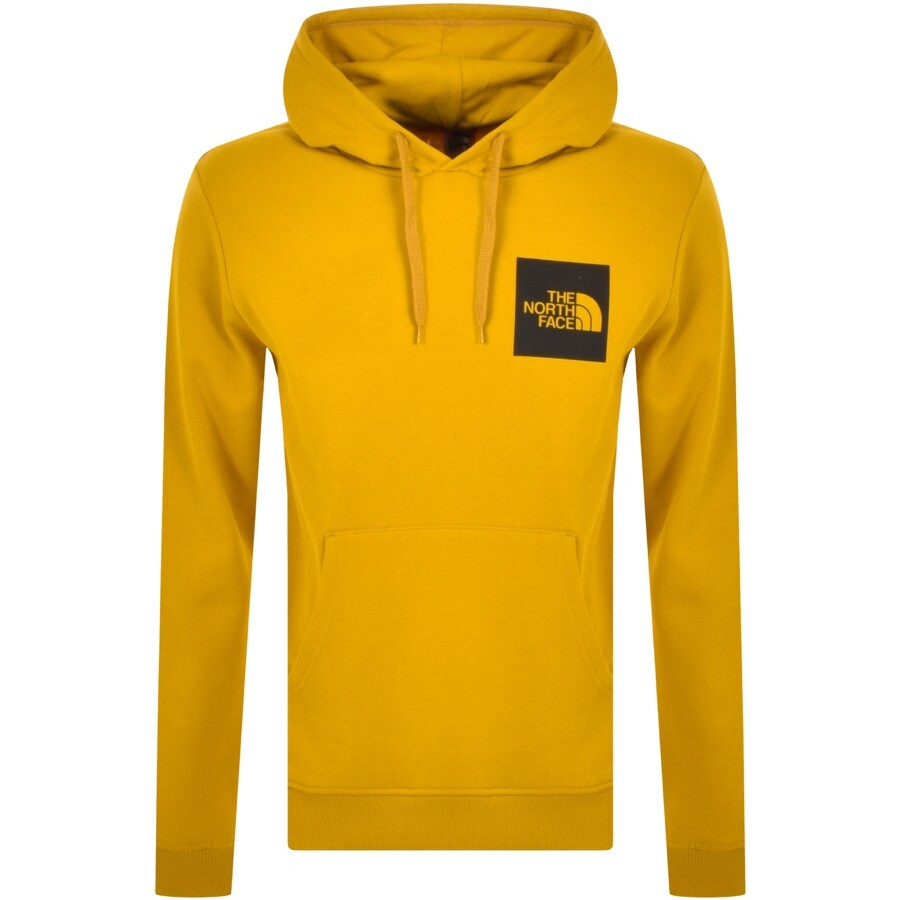 The North Face Fine Hoodie Yellow