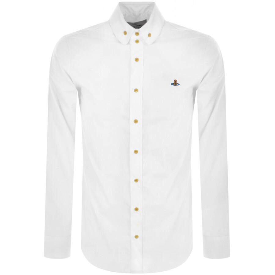 Vivienne Westwood Krall Long Sleeved Shirt White