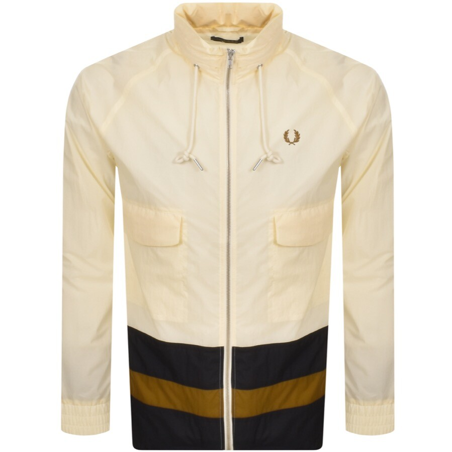 Fred Perry Full Zip Sailing Jacket Cream