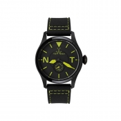 Toy Watch Toy To Fly Monchrome Watch Black