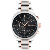 BOSS HUGO BOSS 1513473 Grand Prix Watch Silver