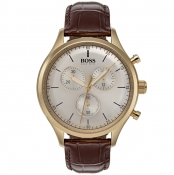 BOSS HUGO BOSS 1513545 Chronograph Watch Brown