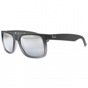 Ray Ban 4165 Justin Wayfarer Sunglasses Grey