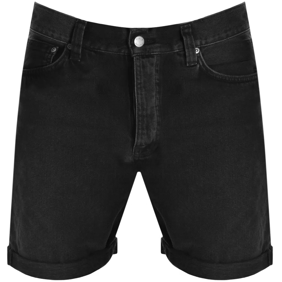 Nudie Jeans Josh Shorts Black