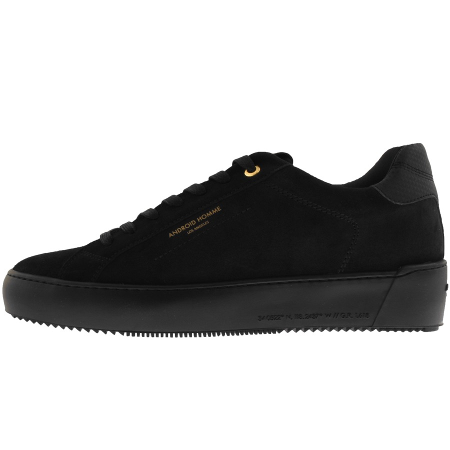 Android Homme Zuma Trainers Black