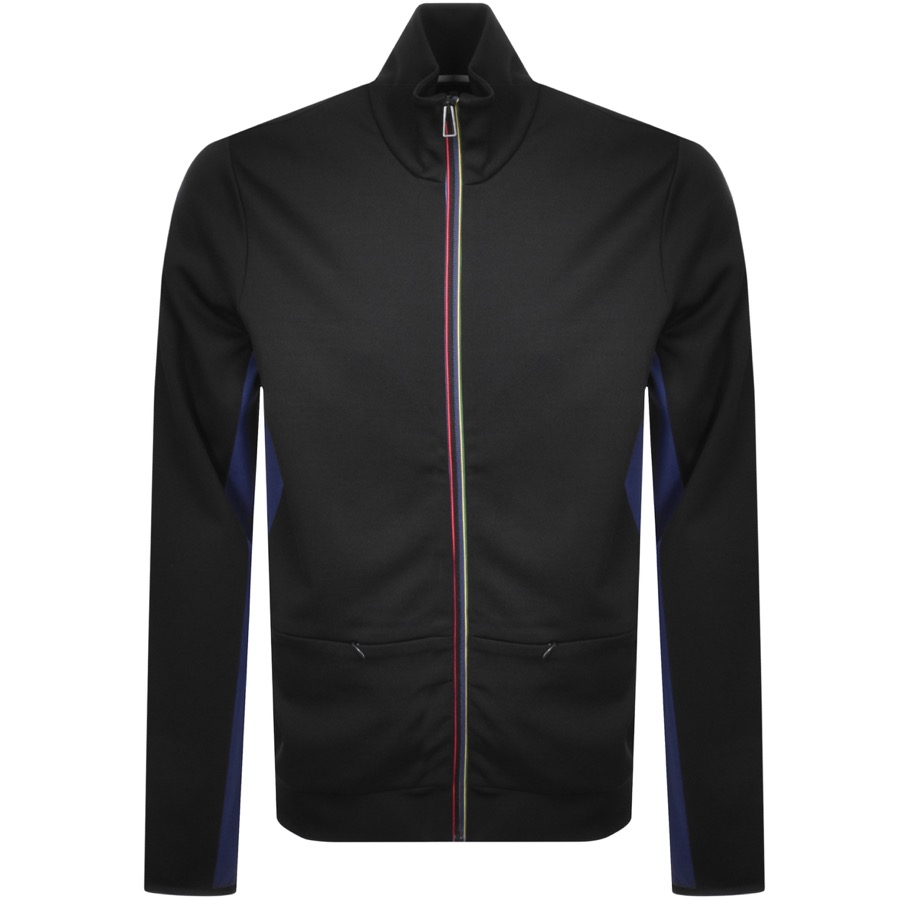 PS By Paul Smith Fit Full Zip Track Top Black