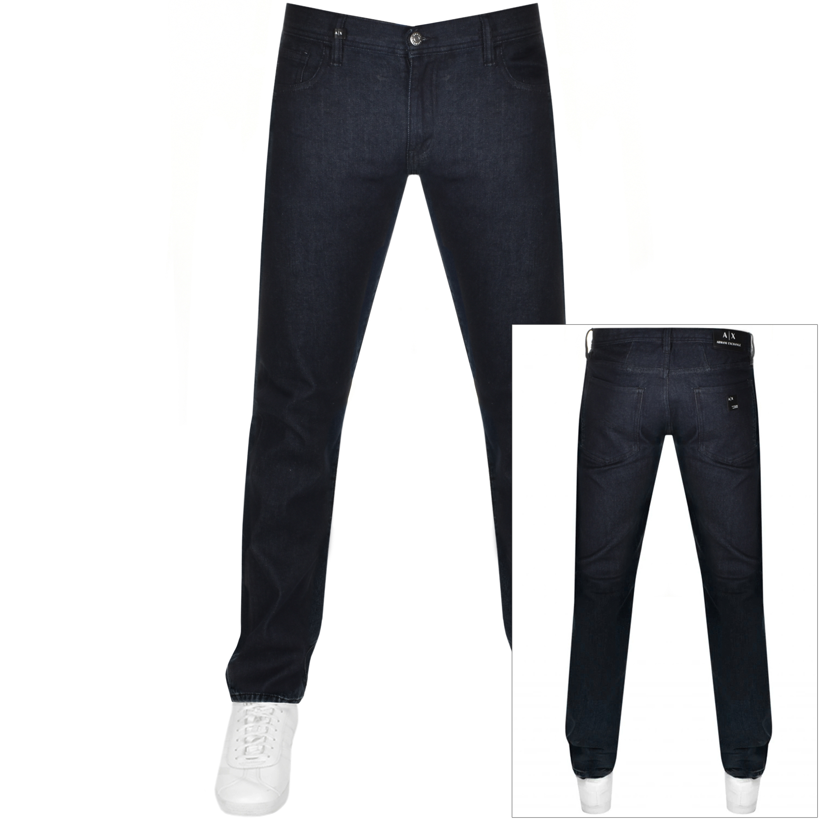 Armani Exchange J16 Straight Fit Jeans Navy