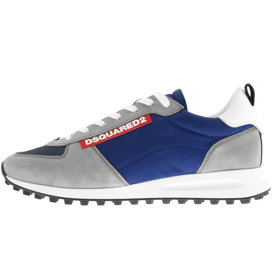 DSQUARED2 Low Top Trainers Grey