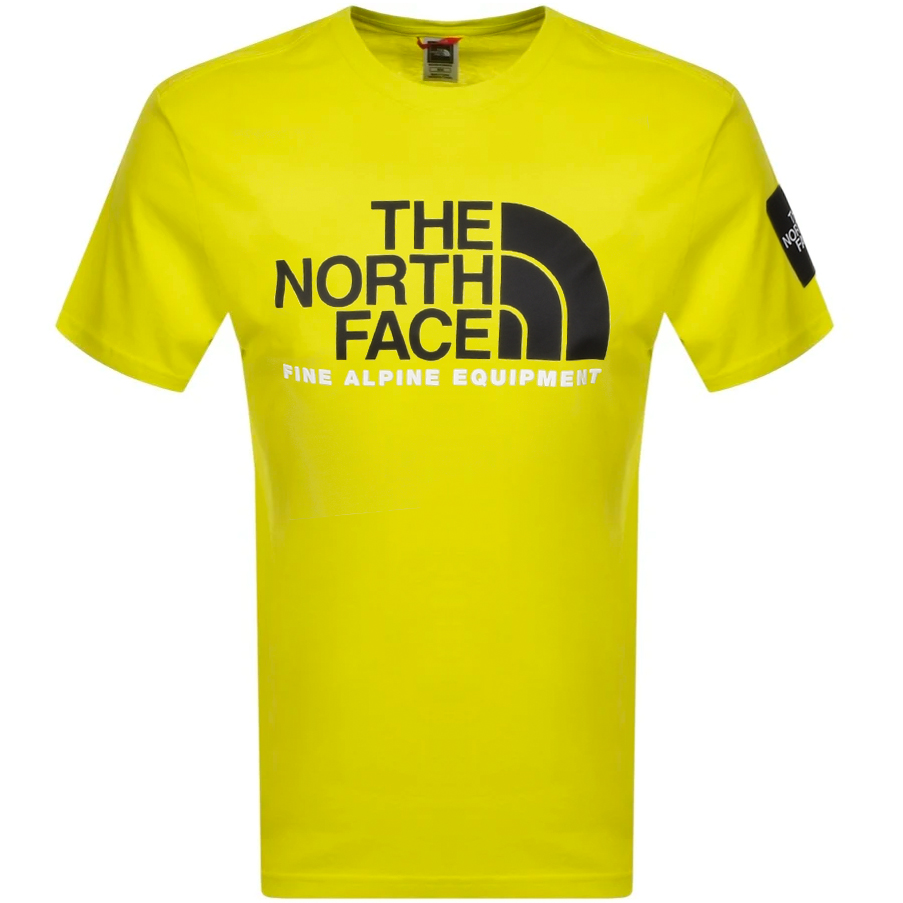The North Face T-shirts THE NORTH FACE FINE ALPINE 2 T SHIRT GREEN
