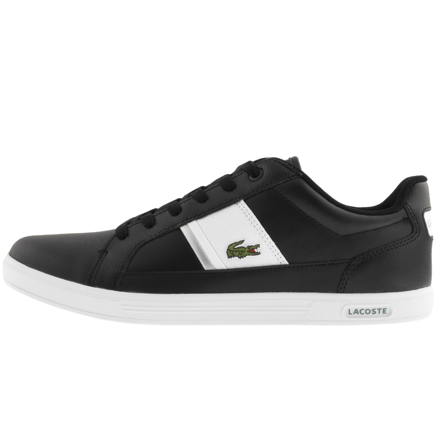 Lacoste Europa Trainers Black
