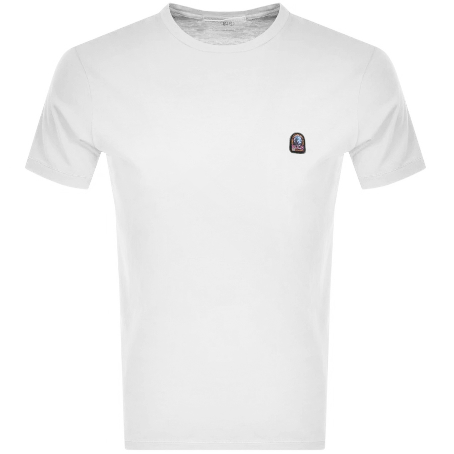 Parajumpers Patch T Shirt White