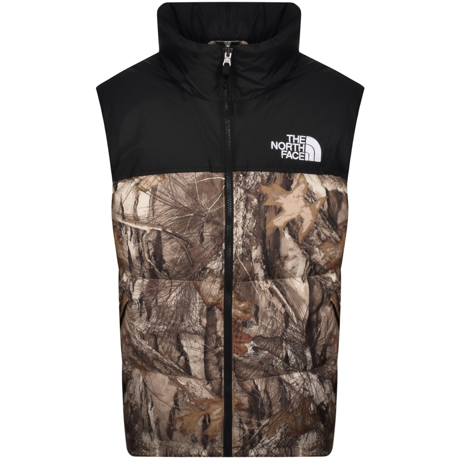 The North Face 1996 Nuptse Down Gilet Brown