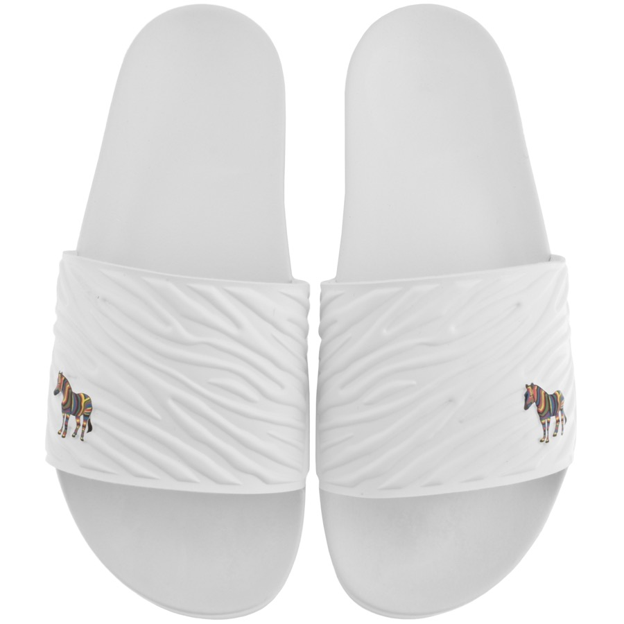 Paul Smith PS BY PAUL SMITH SUMMIT SLIDERS WHITE