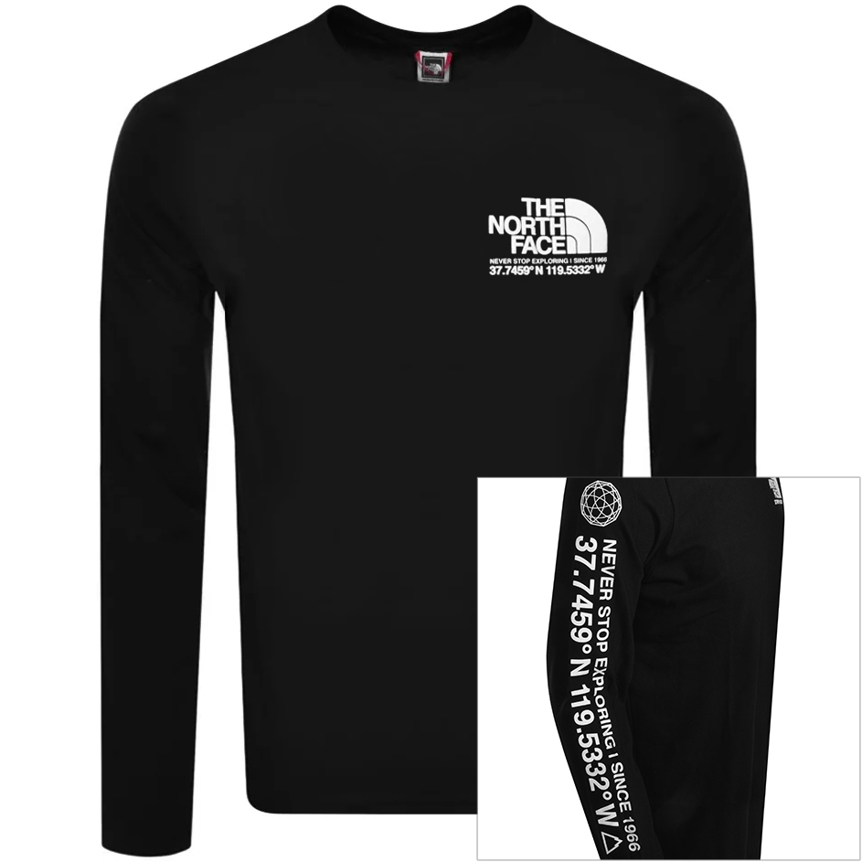 The North Face THE NORTH FACE COORDINATES T SHIRT BLACK