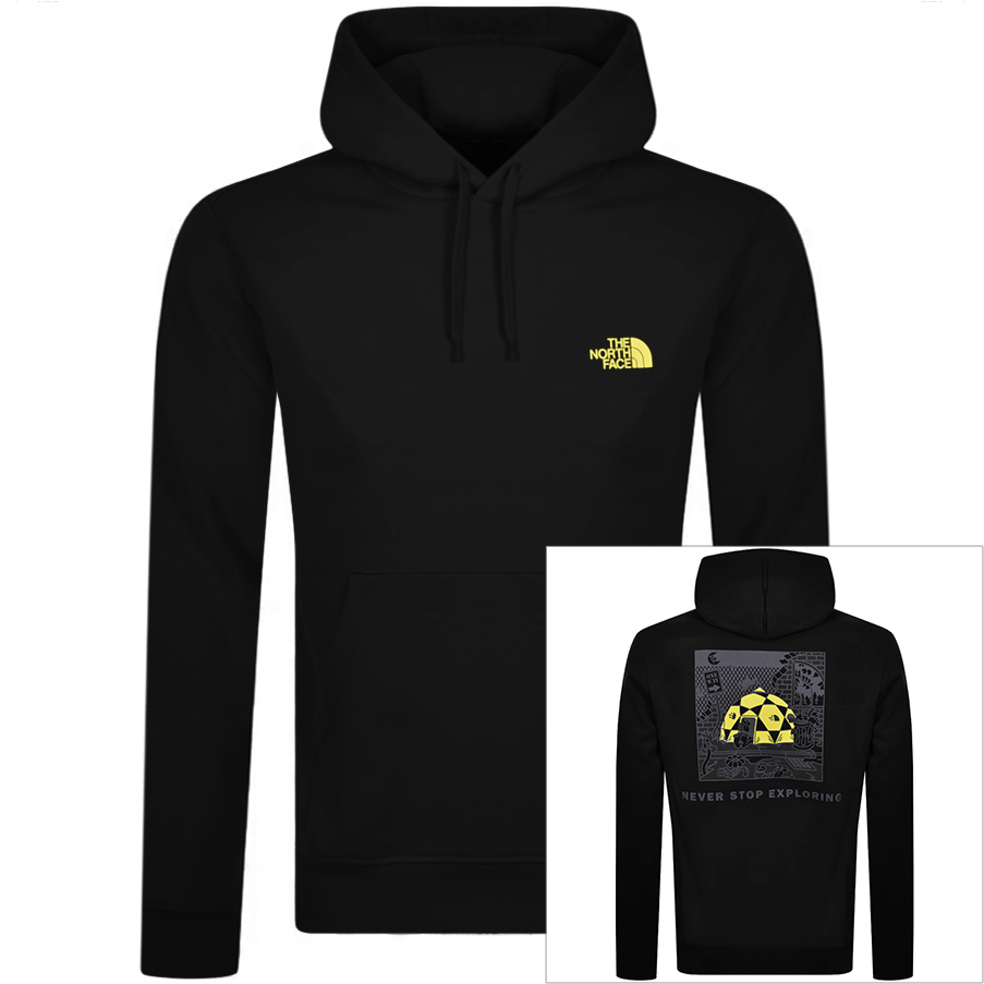 The North Face THE NORTH FACE BLACK BOX HOODIE BLACK