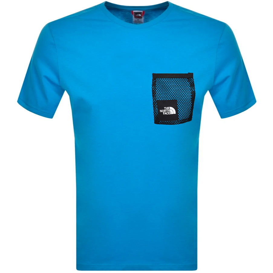 The North Face Black Box Cut T Shirt Blue