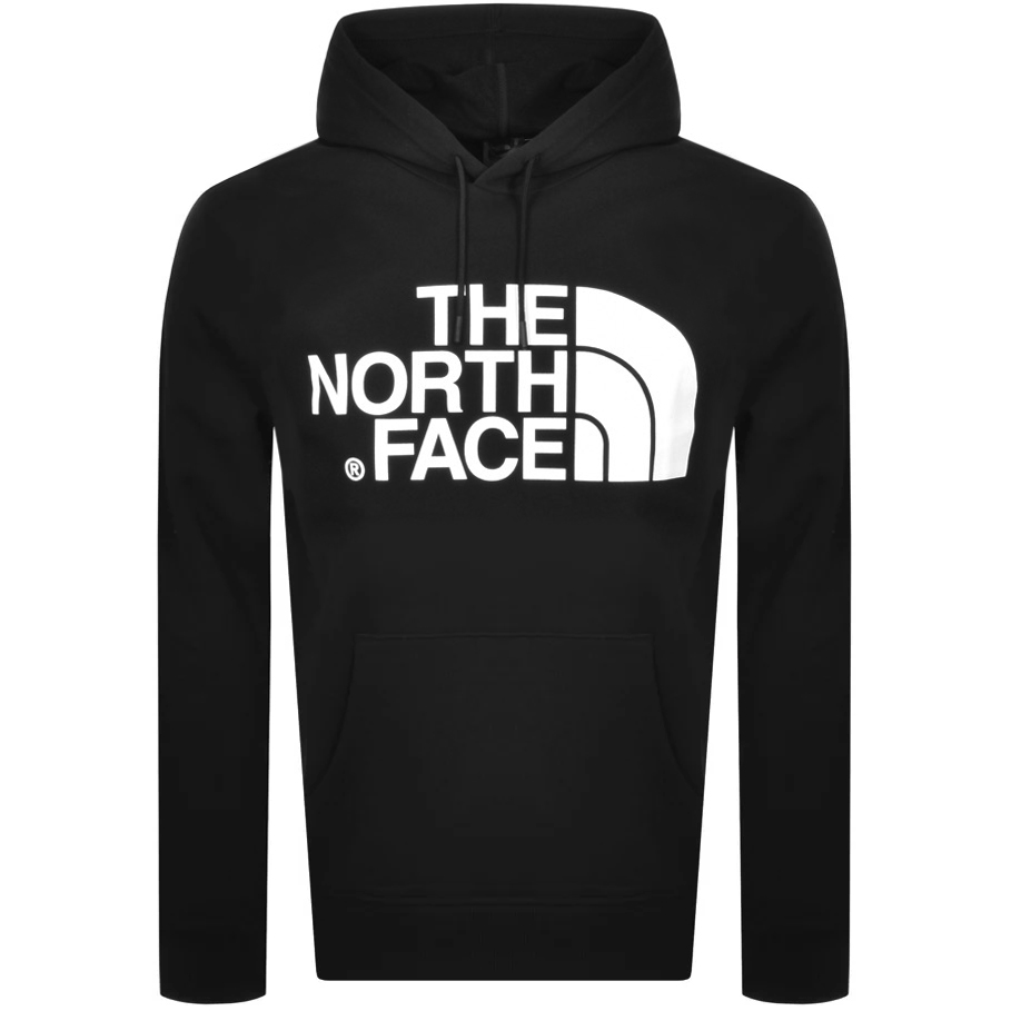 The North Face Cottons THE NORTH FACE LOGO HOODIE BLACK