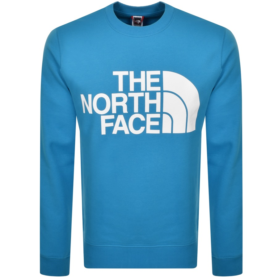 The North Face Sweatshirts THE NORTH FACE STANDARD CREW NECK SWEATSHIRT BLUE
