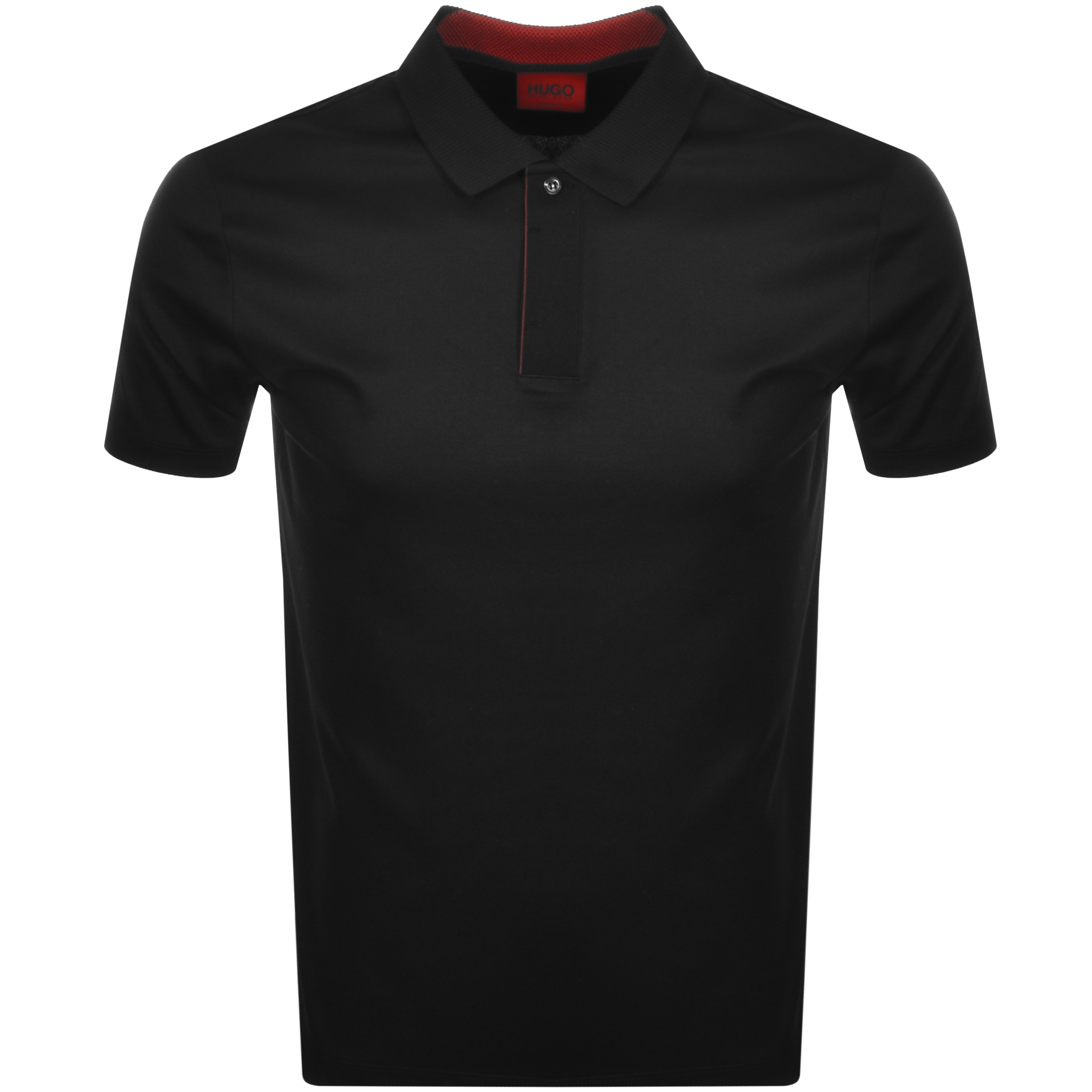 Hugo HUGO DEKOK212 POLO T SHIRT BLACK